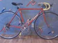 Red Trek Bicycle. 52cm. In great condition, was once