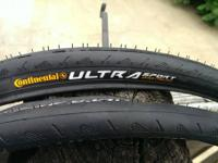 For Sale:. Pair of new Continental Ultra Sport 700x23c