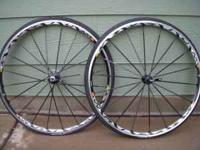 MAVIC KSYRIUM SL wheels for sale. This is a front and