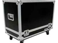 """Road ready"" 2 x 12 Guitar Amp Road Case. In great"