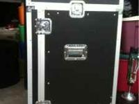 Road case in excellent condition. Full Rack. $200 Call