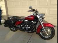 2005 Road King Classic. Original owner. Maroon with