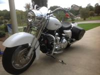 I am providing a 2005 Road King Custom HD that I