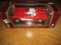 Here is a new old stock Road Legends Red 1957 Chevrolet