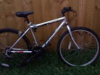 Unisex 26 inch Mt. Bike - 2 yrs old, new tires and