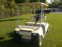 We have a 1997 48 volt golf cart with road kit
