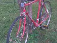 Red roadmaster 10 speed scorcher men's bicycle, 26 x 1