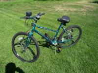 Here's a Roadmaster 15 speed bike with lights and