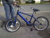 im selling a 20in roadmaster mountian bike. Its a 6spd.