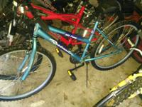 26in Womans Roadmaster $45 and a nice Huffy that needs