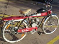 Roadmaster Luxury Liner motorized bicycle in good