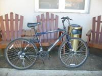 Description roadmaster mountain sport bikeis blue,