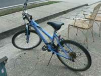 Roadmaster Woman Mountain Bike. $40. All gears work,