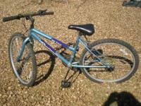 RoadRider 15-Speed Ladies Mountain Bike for sale: Blue
