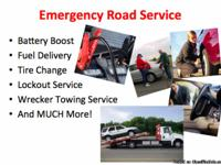 Roadside Assistance - We provide roadside service 24/7