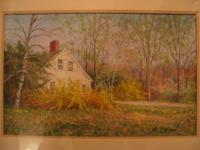 Original pastel by Robert Collier - 'Spring Flowers'