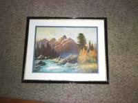 I have two pieces of Robert Wood artwork. (I believe
