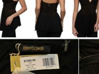 ROBERTO CAVALLI BLOUSE FOR SALE ITS HAD TAGS BUT MY