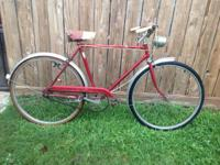 Up for sale is a vintage Robin Hood Nottingham bike