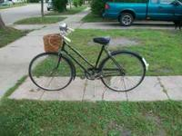 I have this old Robin Hood Bike for sale..it has a