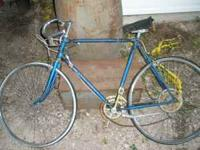 This is a 1960's bike. I think its a 9 speed. Bike is