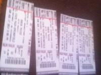 I have 2 VIPIT tickets to Robin Thicke on 8-17-2014 at