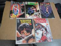 For sale Robo fighter #5 & 6, Wonder Woman #152, Razor