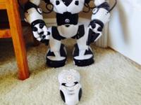"WowWee Robosapien Robot 15"" tall Walks, makes music,"