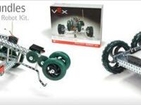 With the Vex Robotics Design System you can build,