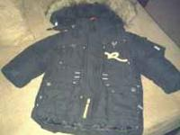 Black Rocawear Jacket size 12 months in great