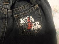 I have Rocawear jeans size 6-9 months Pink Jacket size