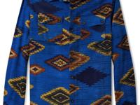 An all-over tribal print on this shirt from Rocawear