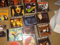All these music CDs in good condition for sale. All