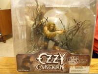 OZZY OSBOURNE BARK AT THE MOON FIGURE..2004 MINT IN