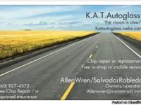 K.a.t. auto glass recently launched out its first