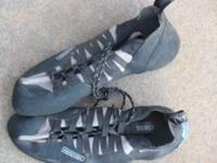 Boreal Matrix Mens Rock climbing shoes size 12 worn