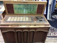 Model 468 roc kola jukebox. 1977 design. Stored in a