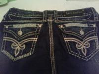 Size 30 roza easy fit boot cut. Worn twice. Asking $125