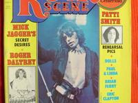 "Up for sale is the January 1976 issue of ""Rock Scene"""