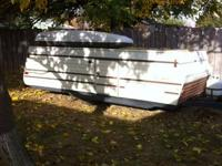 Older rock wood tent trailer for sale. Has new top and