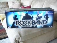 This is a Rock Band bundle w/ instruments that you can