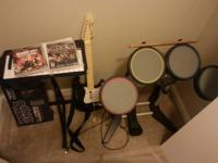 Rockband 3 set for PS3 - consists of drums, cymbal set,