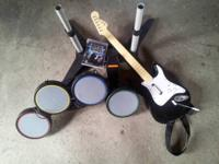 I am selling the rock band kit with the game for ps3.
