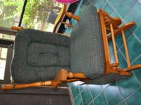 Rocker glider for sale. Very good condition. Cushions