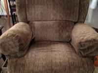 Rocker/Recliner, Brown TweedBuilt by the MennonitesOne