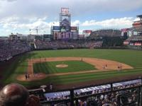 We are Colorado Rockies Season Ticket Holders with 2