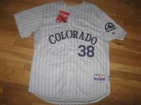 I have a brand new Stitched Authentic Colorado Rockies