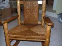 I am selling a child size rocking chair. This is a very