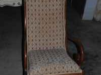 This rocking chair was bought in the 1977. It is in