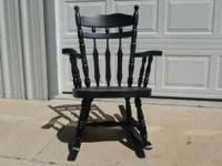 All wood Rocking Chair excellent condition. $35.00 call
